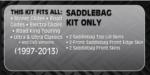 Saddlebags 1997-2013